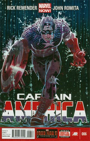 CAPTAIN AMERICA #6 NOW
