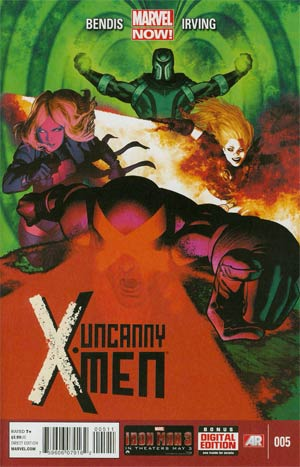 UNCANNY X-MEN #5 NOW