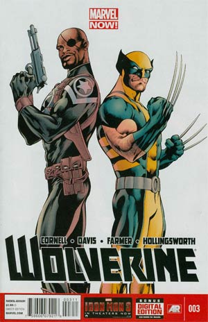 Wolverine Vol 5 #3 Regular Alan Davis Cover