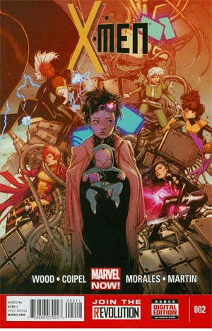 X-Men Vol 4 #2 Regular Olivier Coipel Cover