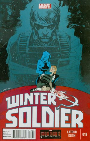 Winter Soldier #18 Regular Declan Shalvey Cover