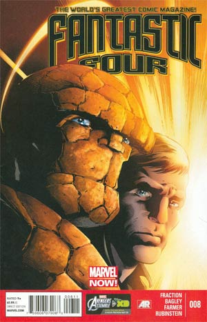 Fantastic Four Vol 4 #8