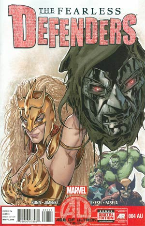 Fearless Defenders #4AU (Age Of Ultron Tie-In)