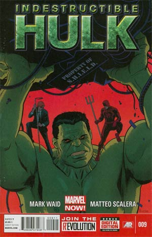 Indestructible Hulk #9 Regular Paolo Rivera Cover