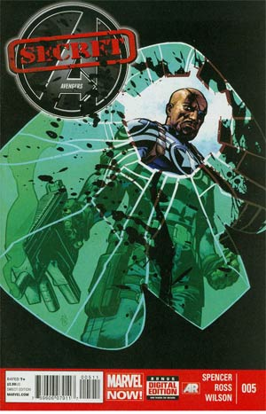 Secret Avengers Vol 2 #5 Regular Tomm Coker Cover