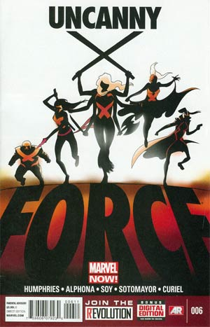 Uncanny X-Force Vol 2 #6 Regular Kris Anka Cover