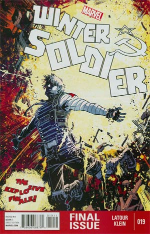 Winter Soldier #19 Regular Declan Shalvey Cover