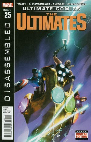 Ultimate Comics Ultimates #25 Regular Michael Komarck Cover