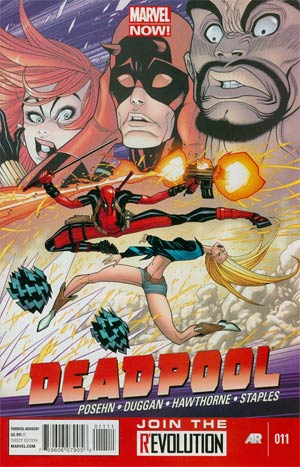 Deadpool Vol 4 #11 Regular Tony Moore Cover