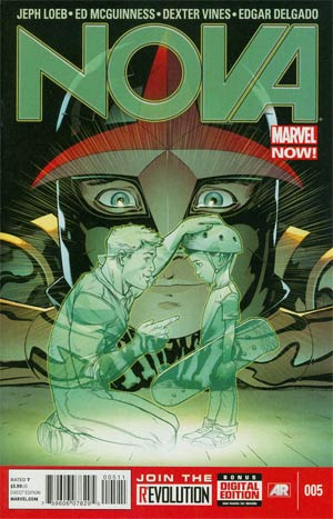 Nova Vol 5 #5 Regular Ed McGuinness Cover