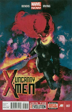 Uncanny X-Men Vol 3 #7 Regular Frazer Irving Cover