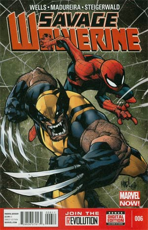 Savage Wolverine #6 Regular Joe Madureira Cover