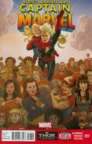 Captain Marvel Vol 6 #17 Cover A Regular Filipe Andrade Cover
