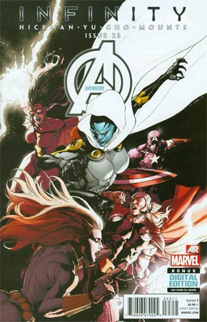 Avengers Vol 5 #23 (Infinity Tie-In)