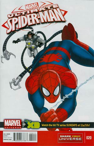Marvel Universe Ultimate Spider-Man #20