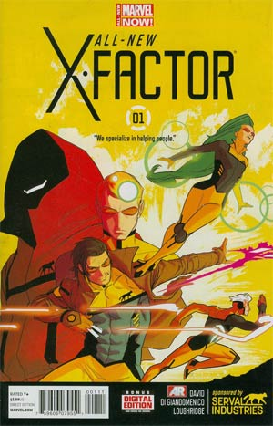 ALL NEW X-FACTOR #1