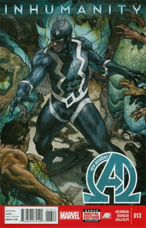 New Avengers Vol 3 #13.INH Cover A Regular Simone Bianchi Cover (Inhumanity Tie-In)