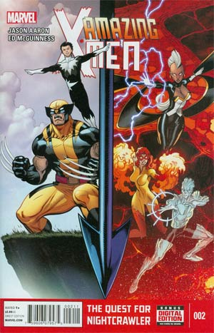 Amazing X-Men Vol 2 #2 Cover A Regular Ed McGuinness Cover