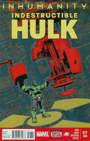 Indestructible Hulk #17.INH (Inhumanity Tie-In)