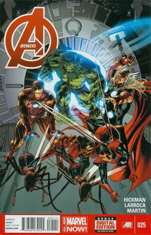Avengers Vol 5 #25 Cover A Regular Mike Deodato Jr Cover