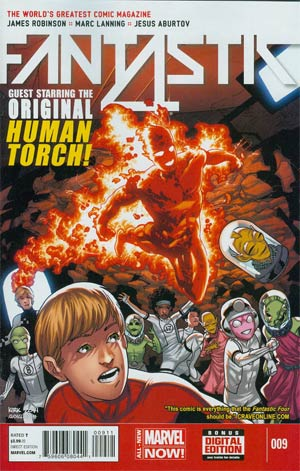 Fantastic Four Vol 5 #9