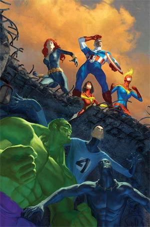 Avengers Vol 5 #38 Cover A Regular Brandon Peterson Cover (Time Runs Out Tie-In)