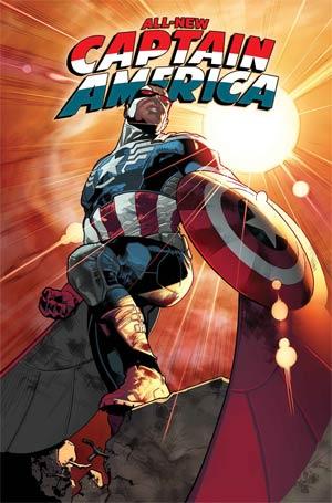 All-New Captain America #1 Cover A Regular Stuart Immonen Cover