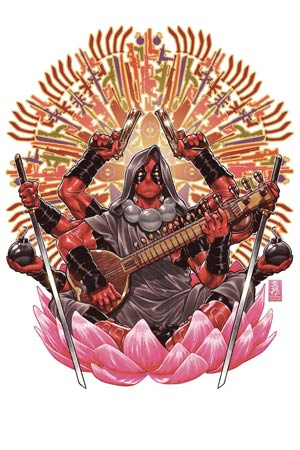 Deadpool Vol 4 #37 Cover A Regular Mark Brooks Cover (AXIS Tie-In)
