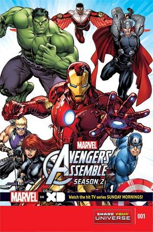 Marvel Universe Avengers Assemble Season 2 #1