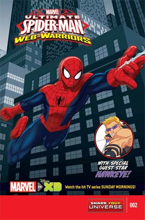 Marvel Universe Ultimate Spider-Man Web Warriors #2