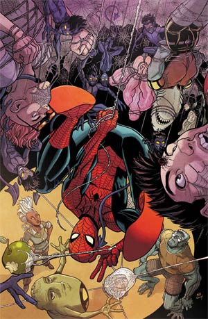 Spider-Man And The X-Men #1 Cover A Regular Nick Bradshaw Cover