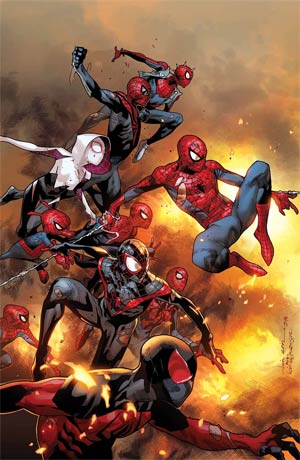 Amazing Spider-Man Vol 3 #13 Cover A Regular Olivier Coipel Cover (Spider-Verse Tie-In)