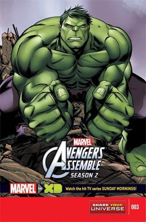 Marvel Universe Avengers Assemble Season 2 #3