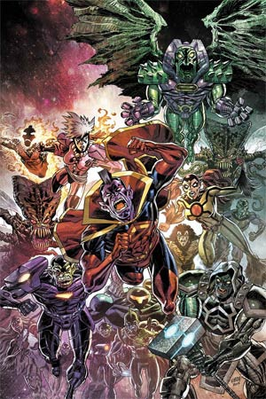 Avengers Vol 5 #42 Cover A Regular Scott Kolins Cover (Time Runs Out Tie-In)