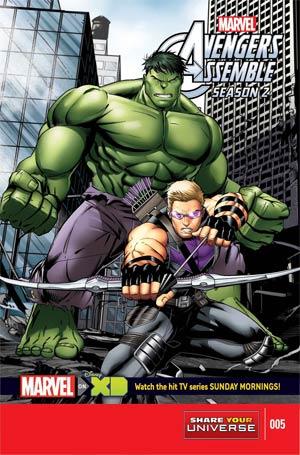 Marvel Universe Avengers Assemble Season 2 #5