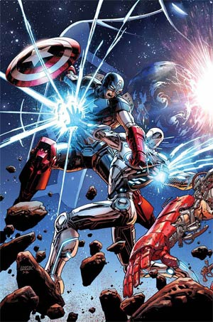 Avengers Vol 5 #44 Cover A Regular Dustin Weaver Cover (Time Runs Out Tie-In)