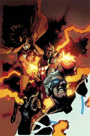 Uncanny Avengers Vol 2 #4 Cover A Regular Leinil Francis Yu Cover