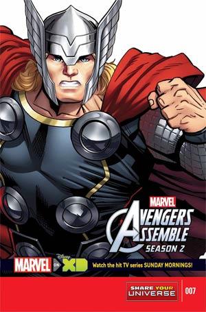 Marvel Universe Avengers Assemble Season 2 #7