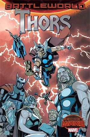 Thors #1 Cover A Regular Christopher Sprouse Cover (Secret Wars Battleworld Tie-In)
