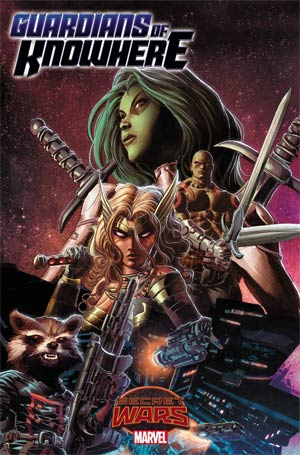 Guardians Of Knowhere #1 Cover A Regular Mike Deodato Jr Cover (Secret Wars Warzones Tie-In)