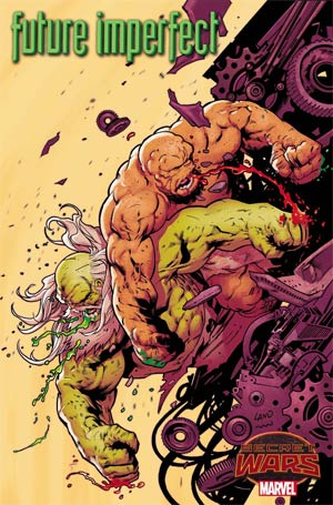 Future Imperfect #2 Cover A Regular Greg Land Cover (Secret Wars Warzones Tie-In)