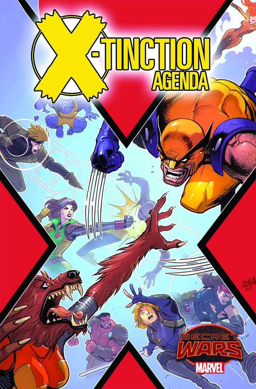 X-Tinction Agenda #2 Cover A Regular David Nakayama Cover