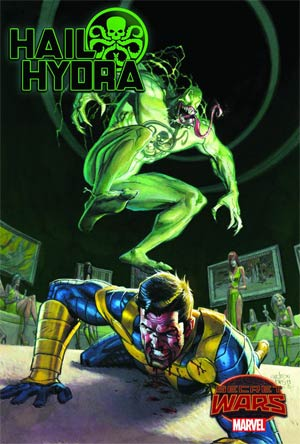 Hail Hydra #2 Cover A Regular Roland Boschi Cover (Secret Wars Warzones Tie-In)