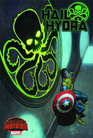 Hail Hydra #1 Cover A Regular Roland Boschi Cover (Secret Wars Warzones Tie-In)