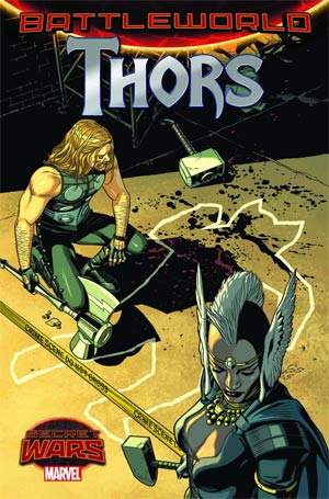 Thors #2 Cover A Regular Chris Sprouse Cover (Secret Wars Battleworld Tie-In)