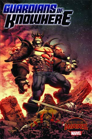 Guardians Of Knowhere #2 Cover A Regular Mike Deodato Jr Cover (Secret Wars Warzones Tie-In)