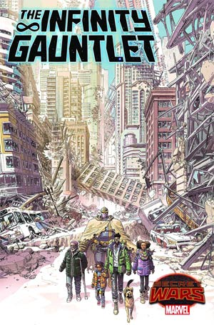 Infinity Gauntlet Vol 2 #3 Cover A Regular Dustin Weaver Cover (Secret Wars Warzones Tie-In)