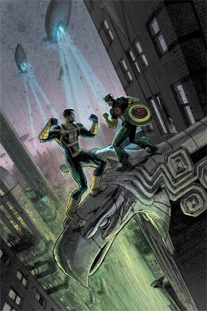 Hail Hydra #3 Cover A Regular Andrew C Robinson Cover (Secret Wars Warzones Tie-In)