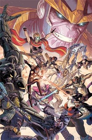 Infinity Gauntlet Vol 2 #4 (Secret Wars Warzones Tie-In)