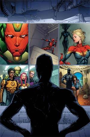 Avengers Vol 6 #0 Cover A Regular Kenneth Rocafort Cover